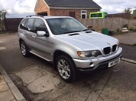 2001 BMW X5 sport low miles full service history