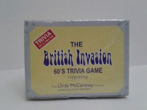 British Invasion trivia game -collectable