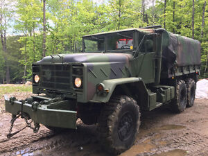 1990 US Army Truck M925A2 6X6