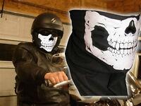 Masque/ Tête de Mort Ghost Call Of Duty moto rider/ski