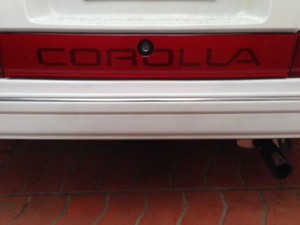 TOYOTA SECA COROLLA SIGN FITS******1988 $50 Leichhardt Leichhardt Area Preview