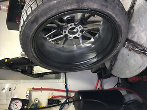 Tire changeover with balance $79