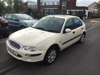Rover 25 il tax and mot drive away £150