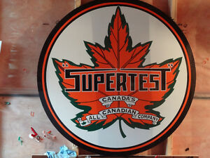 SUPERTEST 48 INCH SIGN