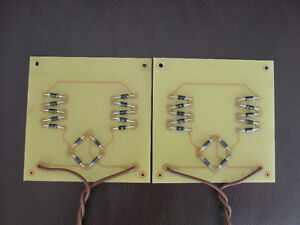 Quad ESL-57 Zener Clamp Boards