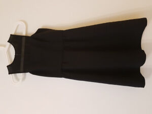 NEW BANANA REPUBLIC BLACK DRESS