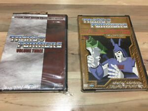 Transformers Collector's Edition DVD's