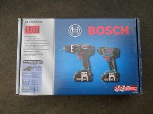 Bosch 18V drill/driver set- NEW