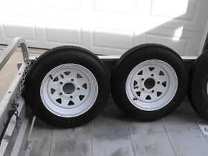 12 inch trailer tires and rims