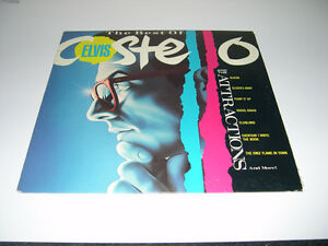 Elvis Costello - The Best Of (1985) LP Vinyl Punk New Wave