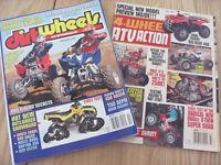 """40 Revues """"Dirt Wheels"""" et """"4 Wheel ATV action"""""""