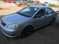 2006 Toyota Corolla PARTS!!!