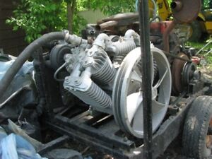 Large Air Compressor, will separate motor if one wants
