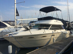 SEA RAY YACHT-CRUISER CONVERTIBLE FLY BRIDGE BOAT-best offer