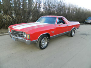 1972  EL CAMINO /  BIG BLOCK  CAR