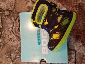 Size 4 Baby Bogs - Never worn
