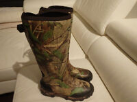 Rubber boots Camo