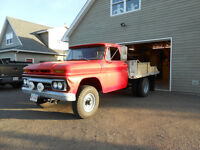 1965 GMC 4X4 Duelie Flatbed