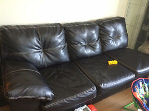 2 Piece sectional (Owned by non-smoker/ no pets)