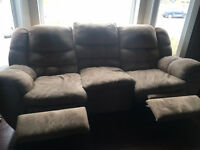 Moving Sale - Couch, photo canvas, new foot spa etc.