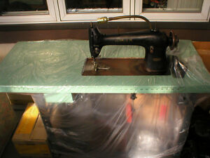MACHINE A COUDRE INDUSTRIELLE SINGER SEWING MANUFACTURE