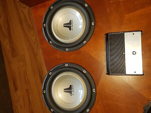 JL Audio subs & amp package