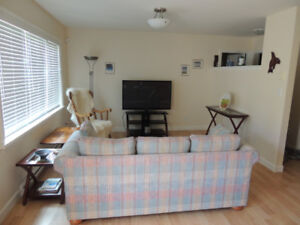 Lovely 1BR Suite in Colwood.  Short Term 2 days to 2 months.