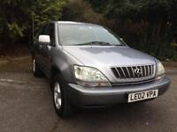 2002 LEXUS RX300 3.0 PETROL AUTOMATIC ONLY 63K