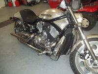 Harley v rod 2004 stainless