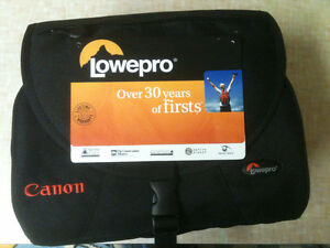 Brand New Lowepro camera bag (Canon branded) lifetime warranty