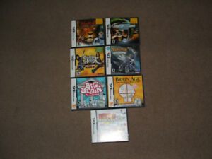 Nintendo DS - 9 Video Games from $12 each- As New- All for $110