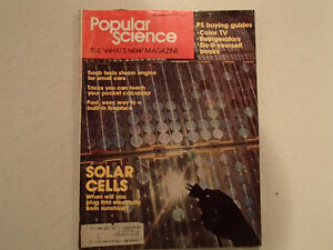 Vintage Popular Science Magazine December 1974 GC