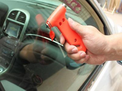 Car Glass Window Breaker Safety Escape Emergency Hammer Seat Belt Cutter Deft