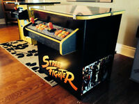Street Fighter Multi-Game Arcade Machine - Plays 619 Games!