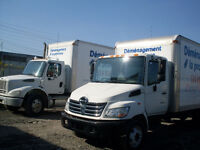 http://demenagementlaprovince.com.. Camions 27 pieds et 20 pieds
