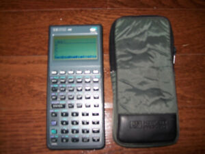 Hewlett Packard hp 48G Graphic Calculator 32K RAM W/Case
