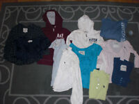 LOT OF ABERCROMBIE CLOTHES XS/S