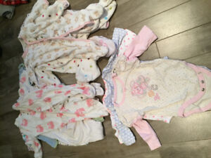 Baby girl size 3 month and 3-6 month lot