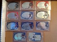 A lots of hockey cards for trade or sale.