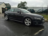 59 AUDI A4 2.0 TDI S-LINE (143PS) 84000 MILES IN BLACK VERY CLEAN CAR