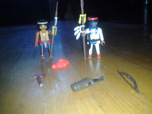 2 INDIENS PLAYMOBIL