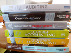 Accounting and finance textbooks