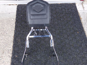 Harley quick release backrest with Willie-G   recycledgear.ca Kawartha Lakes Peterborough Area image 1