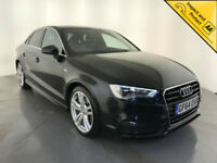 2014 64 AUDI A3 S LINE TDI DIESEL AUTOMATIC 1 OWNER SERVICE HISTORY FINANCE PX