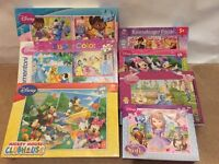 Bundle Disney jigsaws princesses, doc, Mickey, Minnie