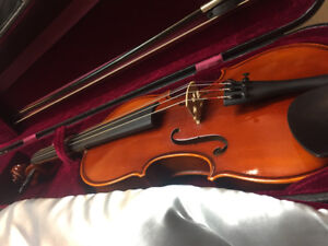 Quality Student violin for sale 3/4 size.