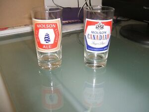 verre de collection molson