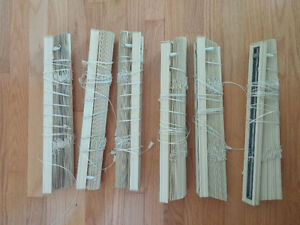 Window blinds - various sizes