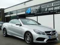 Mercedes E350 CDI BlueTEC AMG Line Cabriolet 9G-Tronic Plus