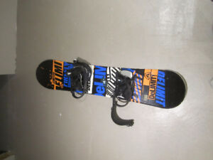 Firefly Board & Bindings - 130cm (youth)